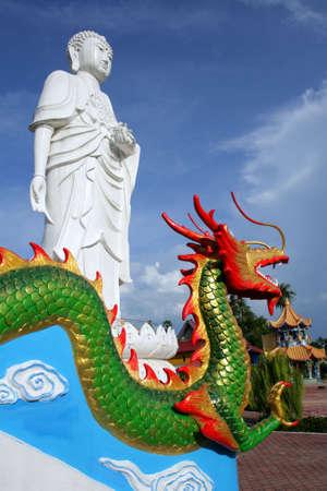 kelantan: Wat Mai Suvankhiri (Dragon Boat temple), Kelantan, Malaysia