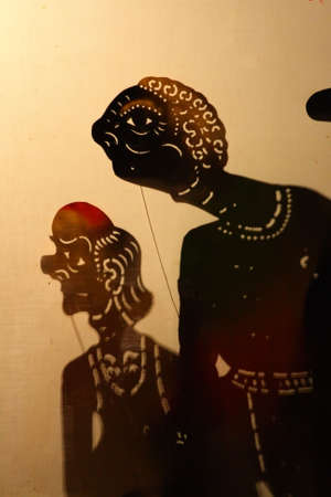 puppet show: Wayang Kulit (Shadow Puppet Show), Kelantan, Malaysia