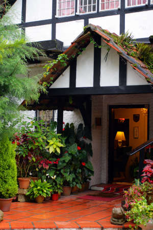 A traditional English cottage