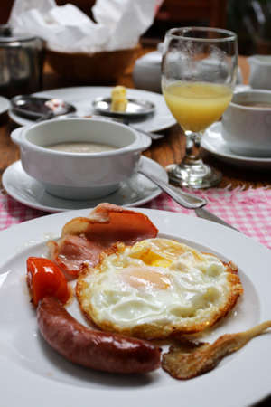 Stock image of a traditional English breakfast Stock Photo - 5534325