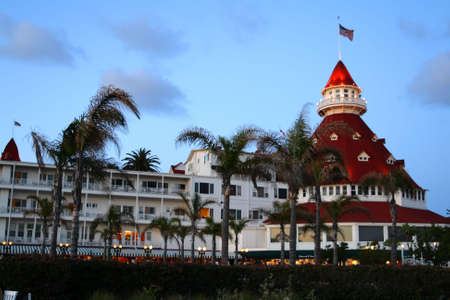 del: Hotel del Coronado, San Diego, USA   Stock Photo