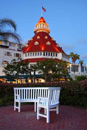 hotel exterior: Hotel del Coronado, San Diego, USA   Editorial