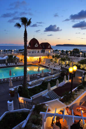accommodation: Hotel del Coronado, San Diego, USA   Editorial