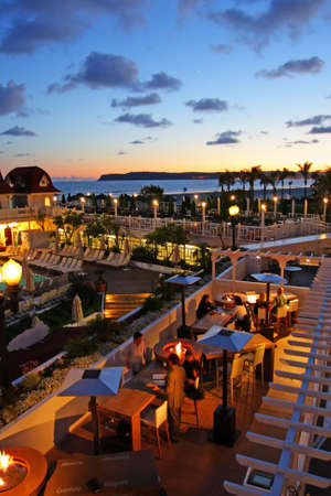 Hotel del Coronado, San Diego, USA   Stok Fotoğraf