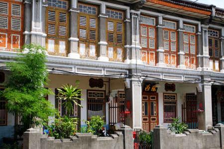 George Town Unesco World Heritage Site, Penang, Malaysia  Standard-Bild