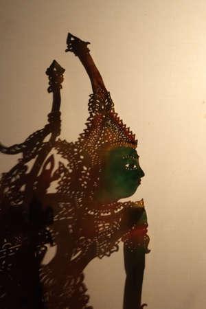 kulit: Wayang Kulit (Shadow Puppet Show), Kelantan, Malaysia