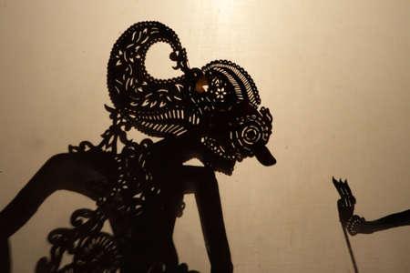 Wayang Kulit (Shadow Puppet Show), Kelantan, Malaysia   photo