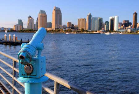 Stock image of San Diego waterfront and skyline  Standard-Bild