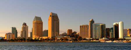 Stock image of San Diego waterfront and skyline Stock Photo - 6342849