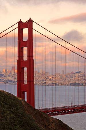 The Golden Gate Bridge of San Francisco, California, USA