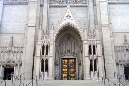 episcopal: Stock image of Grace Cathedral, San Francisco, California, USA