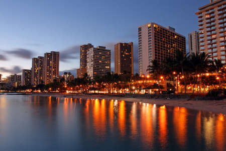 oahu: Stock image of Waikiki Beach, Honolulu, Oahu, Hawaii