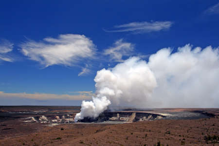 scorching: Stock image of Hawaii Volcanoes National Park, USA