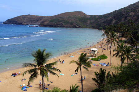 oahu: Stock image of Hanauma Bay, Oahu, Hawaii   Stock Photo