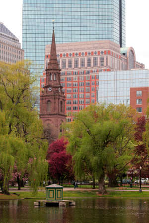 Boston Common and Public Garden, USA  Editorial