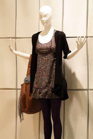 Fashion boutique in modern shopping mall    photo