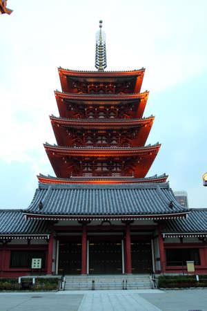 Sensoji (also known as Asakusa Kannon Temple) is a Buddhist temple located in Asakusa, Tokyo, Japan