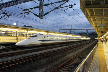 Shinkansen Bullet Train, Japan
