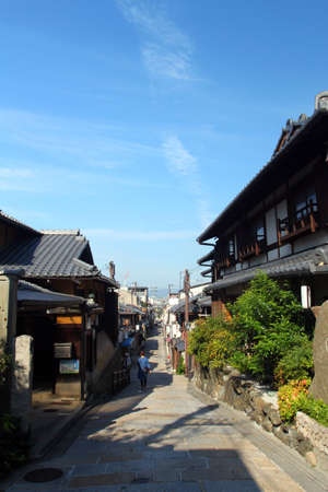 Ishibe-Koji Lane is one of the last of the old traditional streets of Kyoto
