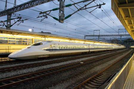 bullet train: Shinkansen Bullet Train, Japan