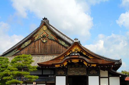 Nijo Castle was built in 1603 as the Kyoto residence of Tokugawa Ieyasu, the first shogun of the Edo Period (1603-1867)