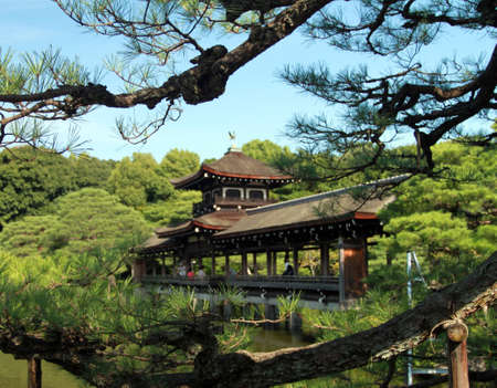 shrine: Heian Shrine, Kyoto, Japan