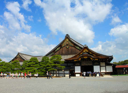 nijo: Nijo Castle was built in 1603 as the Kyoto residence of Tokugawa Ieyasu, the first shogun of the Edo Period (1603-1867)   Editorial