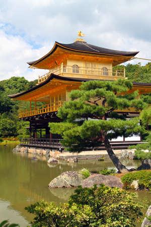 pavillion: Kinkakuji - The Golden Pavillion, Kyoto, Japan