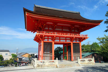 Kiyomizudera (Pure Water Temple) is one of the most celebrated temples of Japan