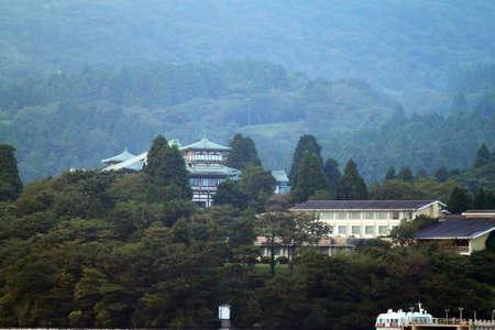 Hakone is part of the Fuji-Hakone-Izu National Park Stock Photo - 13652073