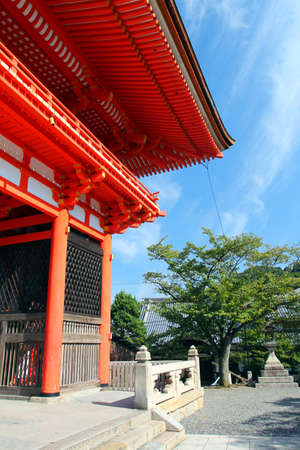 unesco world cultural heritage: Kiyomizudera (&quotPure Water Temple&quot) is one of the most celebrated temples of Japan  Editorial