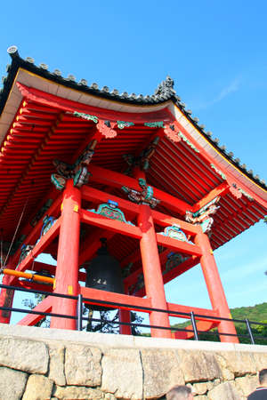 unesco world cultural heritage: Kiyomizudera Temple, Kyoto, Japan