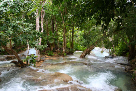 Ocho Ríos is a town on the northern coast of Jamaica, located in the parish of Saint Ann. It is a popular tourist destination, well known for scuba diving and other water sports