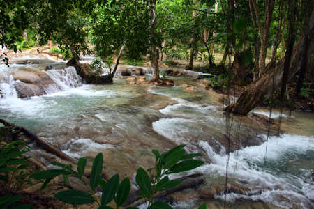 well known: Ocho Ríos is a town on the northern coast of Jamaica, located in the parish of Saint Ann. It is a popular tourist destination, well known for scuba diving and other water sports