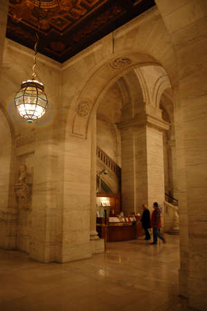 The New York Public Library (NYPL) is the largest public\ library in North America and is one of the United States\' most\ significant research libraries\