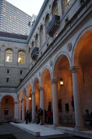 The Boston Public Library is one of the largest municipal public library systems in the United States