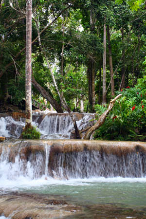 Ocho R�os is a town on the northern coast of Jamaica, located in the parish of Saint Ann. It is a popular tourist destination, well known for scuba diving and other water sports   photo