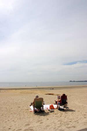 revere: Stock image of Revere Beach, Boston, USA