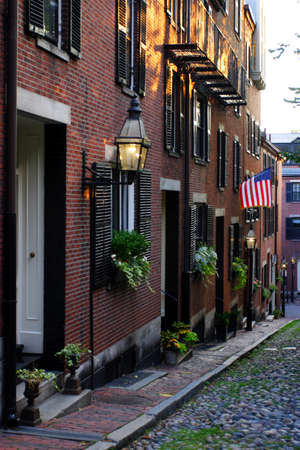 Beacon Hill is a wealthy neighborhood of Federal-style rowhouses, with some of the highest property values in the United States