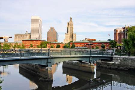 Stock image of Providence, Rhode Island, USA