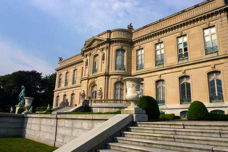 bellevue: Stock image of Elms Mansion in Newport, Rhode Island