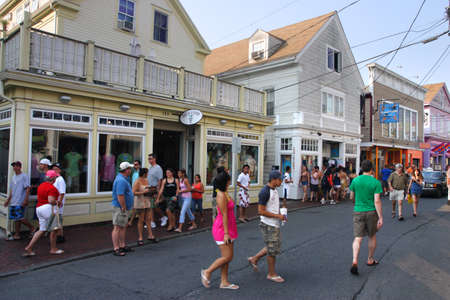 Provincetown was the site of the first landing of Mayflower and is now a major travel destination