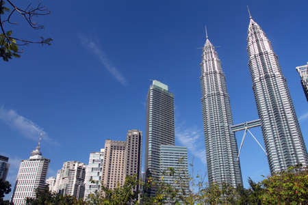 Petronas Towers,also known as Menara Petronas is the tallest buildings in the world from 1998 to 2004