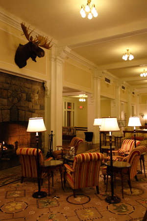 alling: The Mount Washington Hotel, Bretton Woods, USA   Editorial