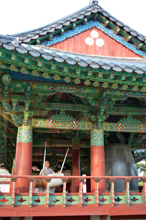 bongeunsa: Bongeunsa Buddhist Temple in Seoul, South Korea