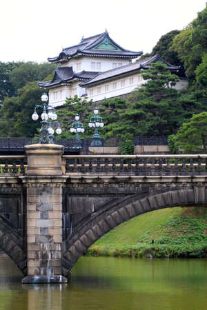 moat wall: Imperial Palace, Tokyo, Japan