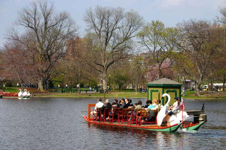 boston common: Boston Common and Public Garden, USA Editorial