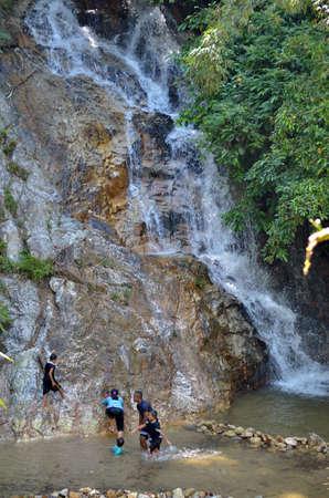 ionizer: Waterfall in a Malaysian tropical jungle