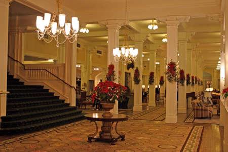 alling: The Mount Washington Hotel, Bretton Woods, USA