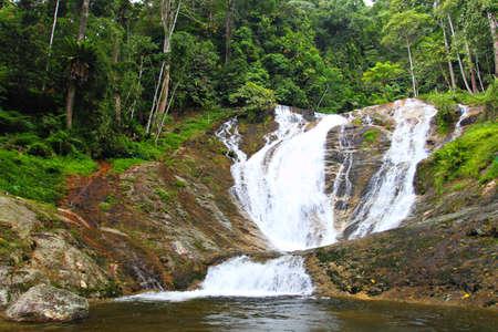 highlands: Waterfalls at Cameron Highlands, Malaysia Stock Photo